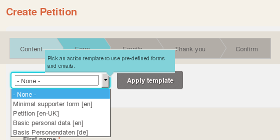 How do I use Action Templates? – Help Centre